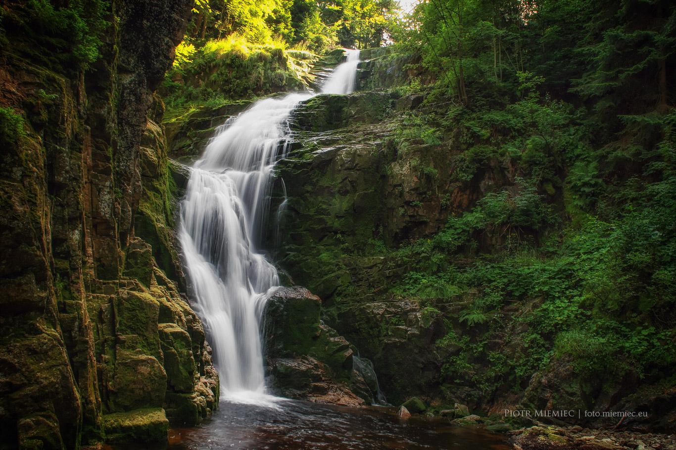 Wąwóz i Wodospad Kamieńczyka