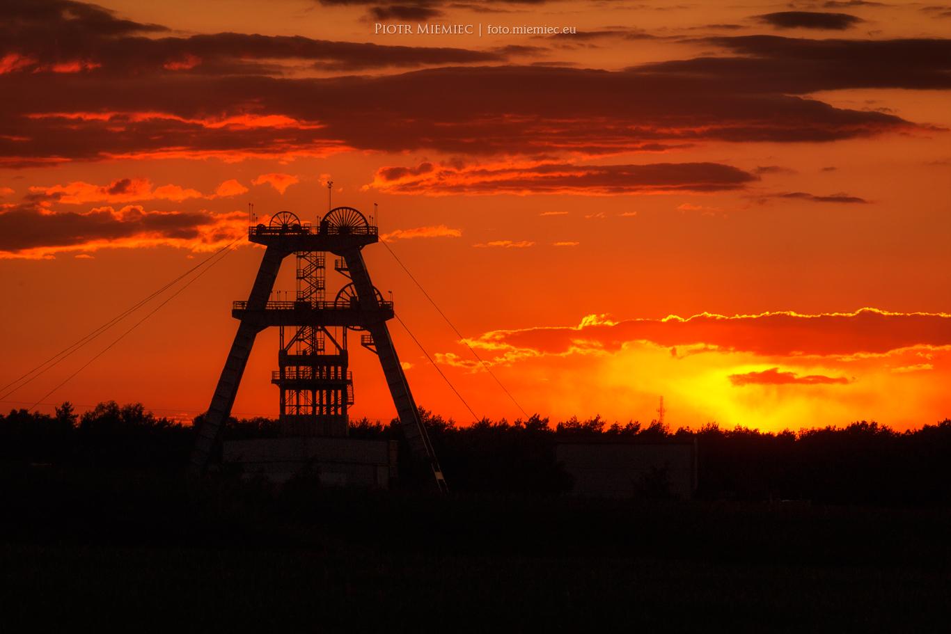 Słońce i kopalnia