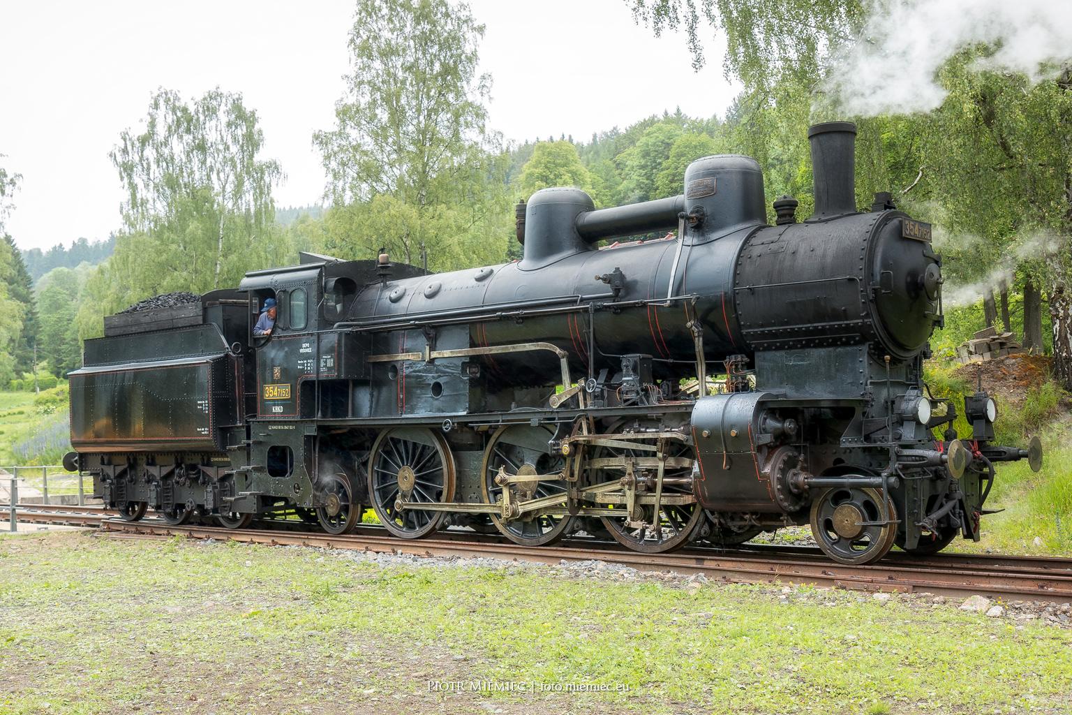 Lokomotywa ČD 354 7152