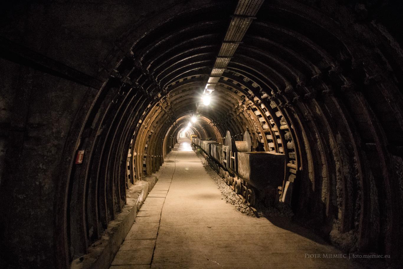 Podziemia kopalni w Wałbrzychu