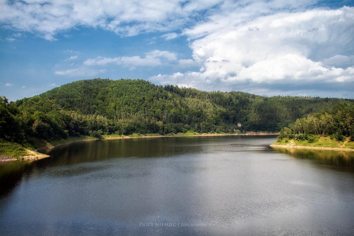 Jezioro i zapora Pilchowice