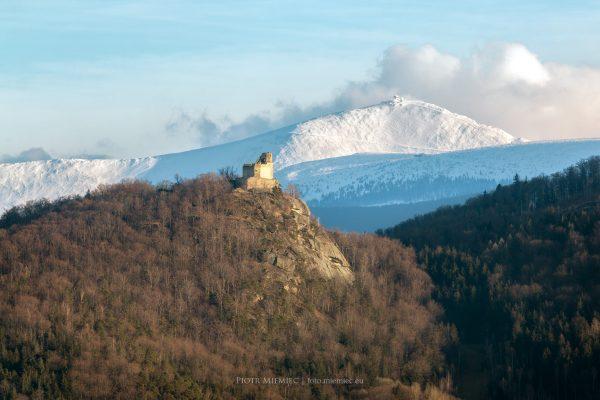 Zamek Chojnik i Śnieżka