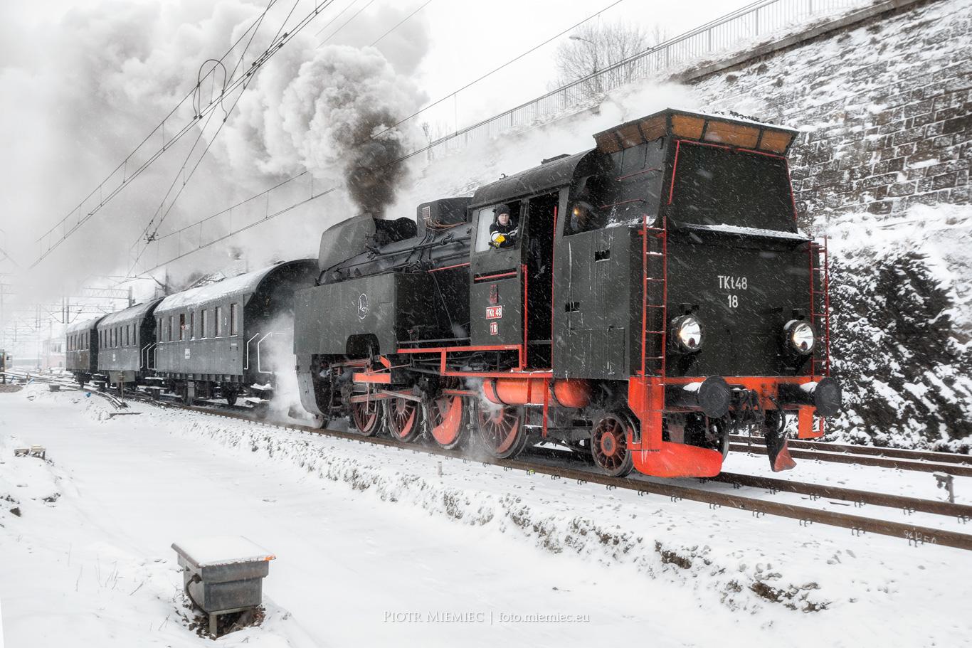 Parowóz TKt48-18 Kłodzko