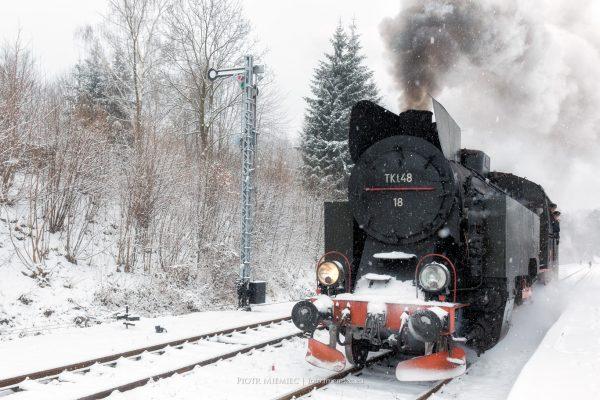 Zabytkowy pociąg