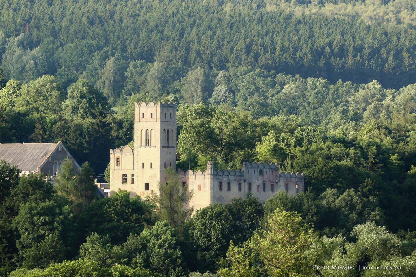 Zamek w Ratnie Dolnym