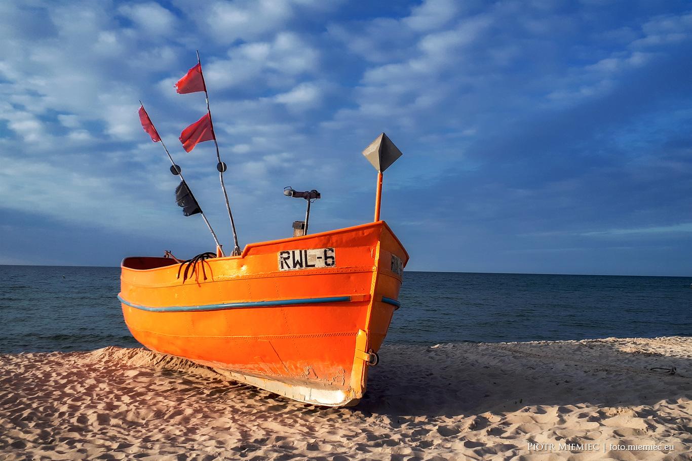 Na brzegu morza – Rewal