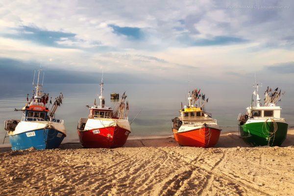 Na brzegu morza – Chłopy