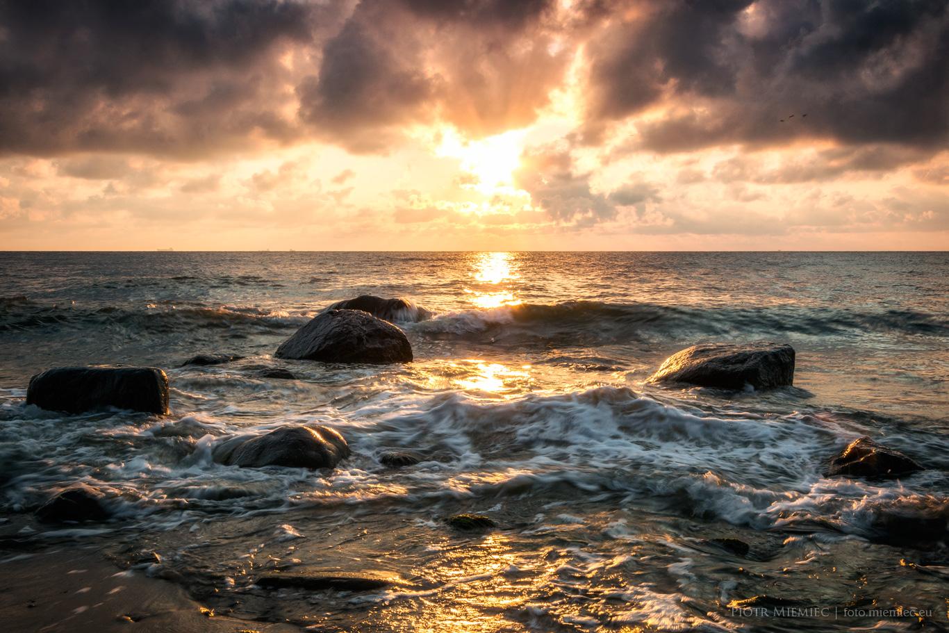Wschód słońca w Orłowie II