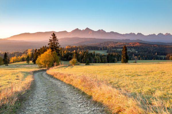 Jesień pod Tatrami