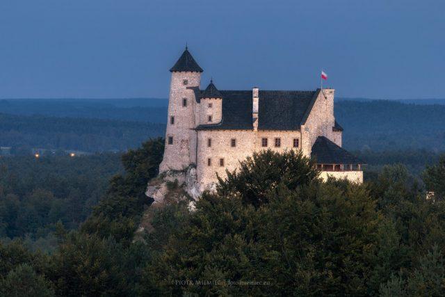 Zamek w Bobolicach – sierpień 2019