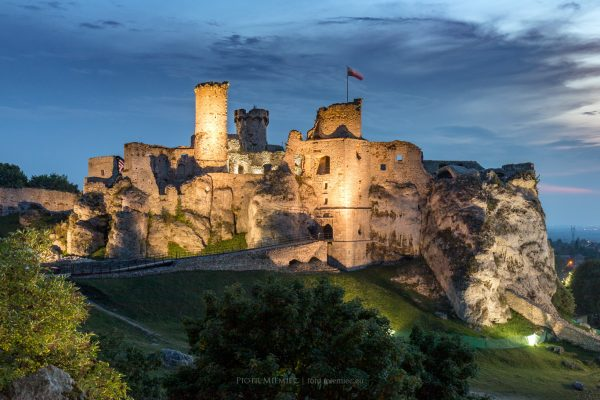 Zamek Ogrodzieniec – sierpień 2019