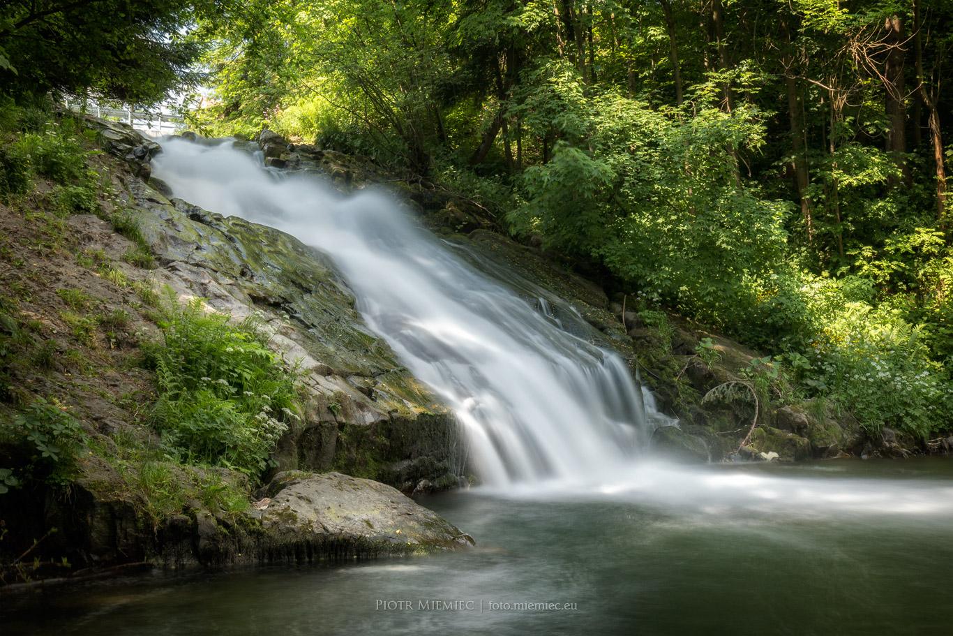 Wodospad w Sopotni