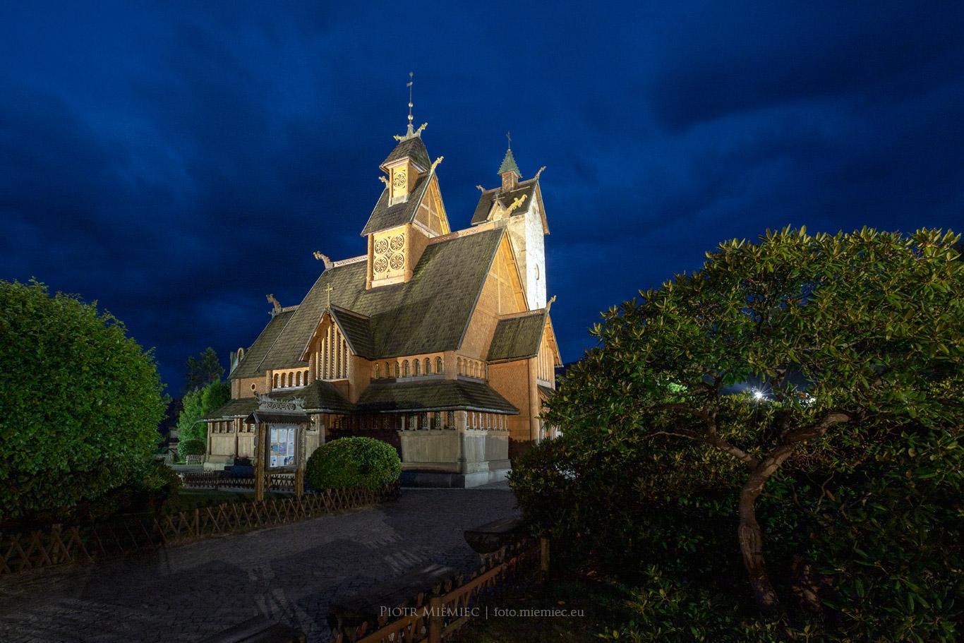 Karpacz kościół Wang