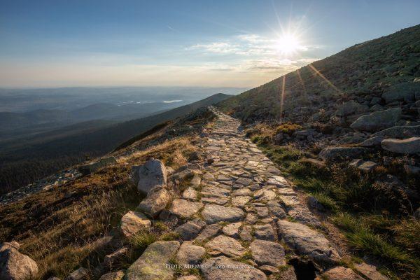 Szlak w Karkonoszach