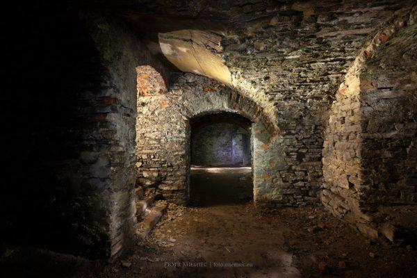 Podziemia zamku Świny