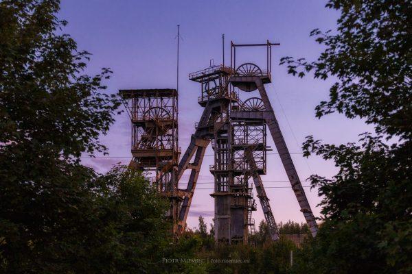 Szyby byłej kopalni Wałbrzych