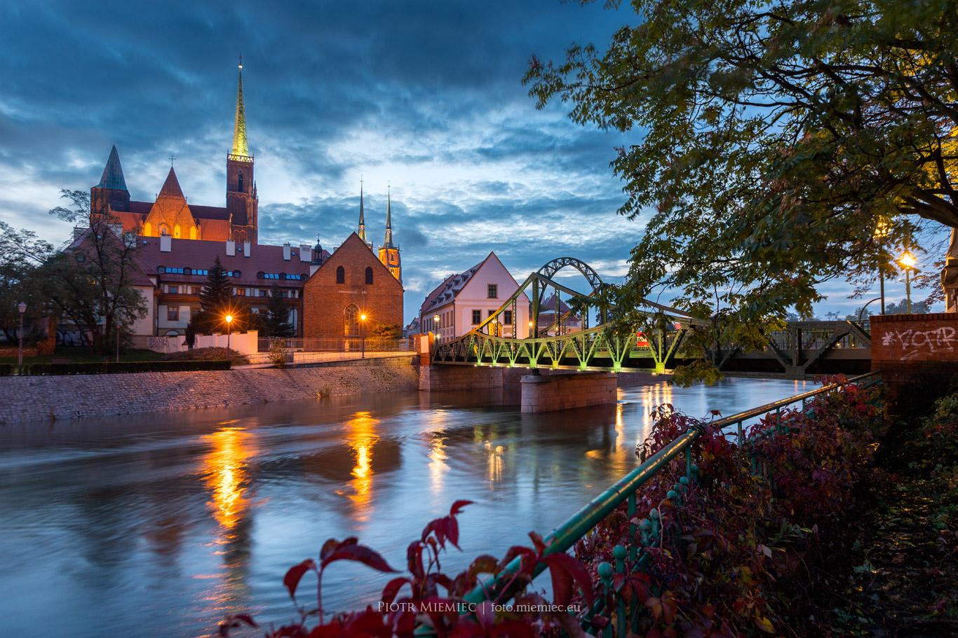 Wrocław o świcie