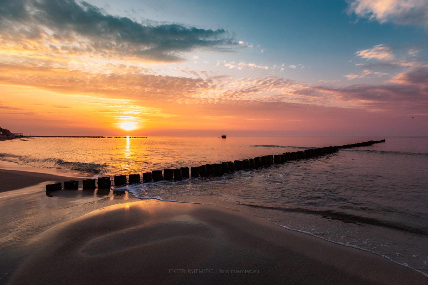 Na brzegu morza – Rewal (4)
