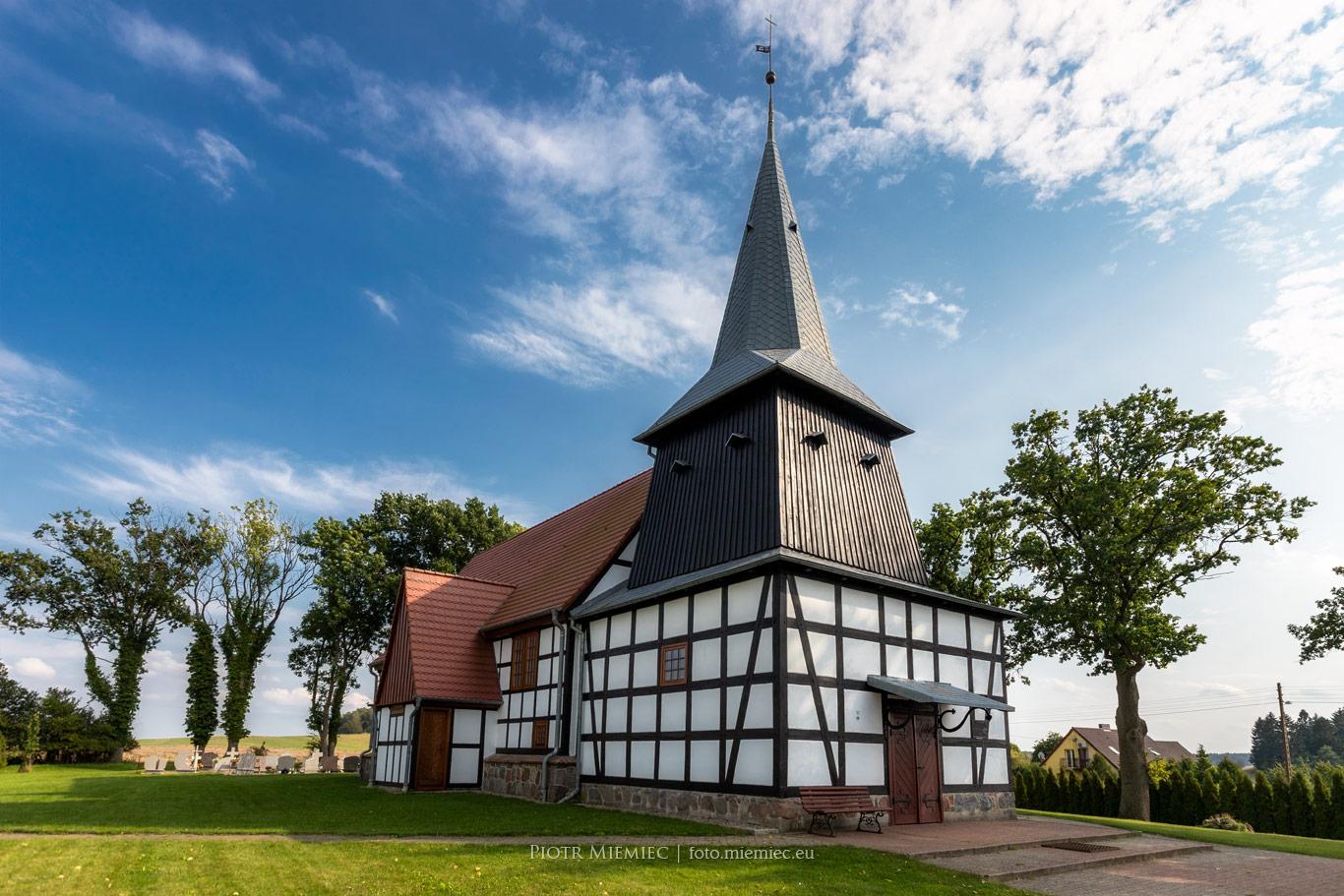 Świeszewo kościół drewniany
