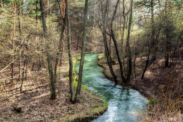 Malownicza rzeka Sztoła